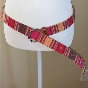 Vintage 100% cotton Guatemala belt. Size XL